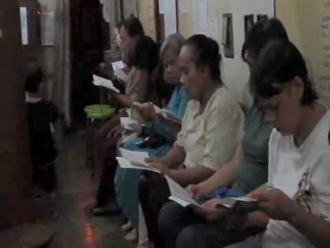 Litani Bunda Maria Dlm Doa Rosario Bln Oktober 2011 Di Lk St Blasius Paroki St Yoseph Palembang video