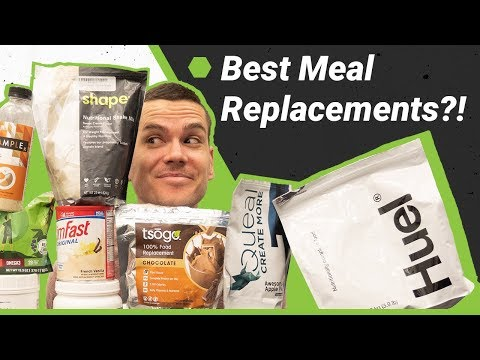 Best Meal Replacement Shakes 2018 — Which Has the Best Nutrition?
