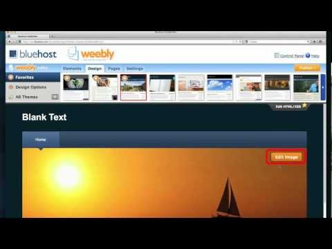 Using the Weebly Website Builder (2/5)