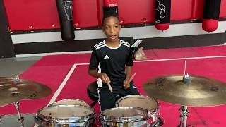 Amazing 11 Year Old Kid Drum Set Solo Player From Atlanta Drum Academy