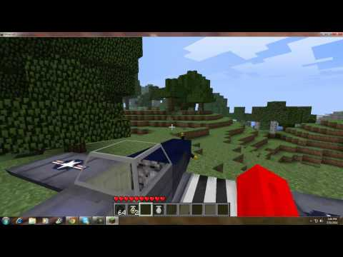 MineCraft How to Install Airplane Mod 1.7.3
