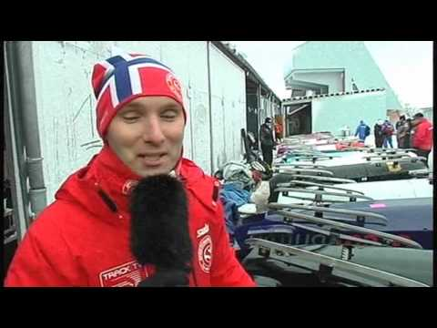 Track TV Altenberg - Marc Huster, Sandra Kiriasis vor Damenrennen