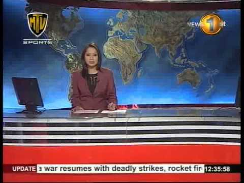 MTVsports Newsfirst Lunch Time News 20th August 2014