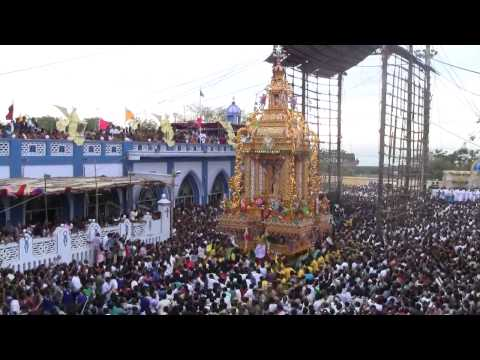 2013 Golden Car Procession of Our Lady of Snows Tuticorin