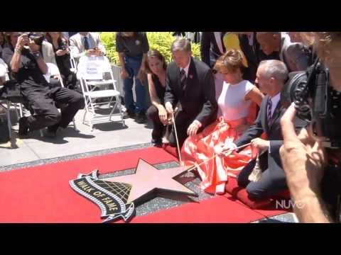 NUVOtv CCO Jennifer Lopez Receives 2,500th star on Hollywood Walk of Fame