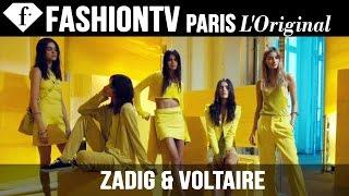 Zadig & Voltaire: Designers Inspiration | Spring/Summer 2015 Paris Fashion Week  | FashionTV
