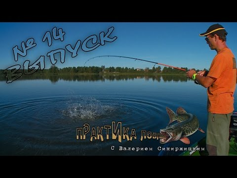 практика ловли с валерием сикиржицким