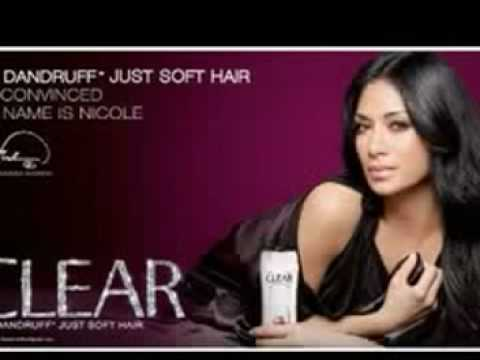 Pussycat Dolls Nicole Scherzinger for Clear Shampoo