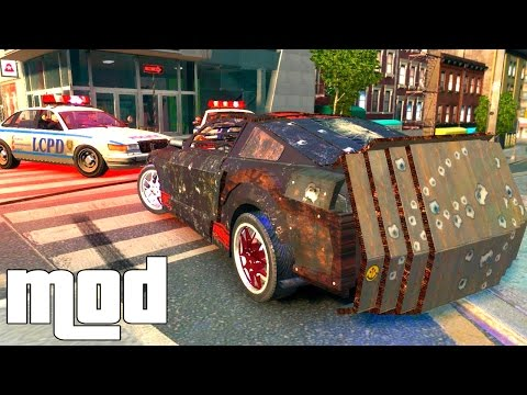 Grand Theft Auto Iv - Death Race Iv [mod] video