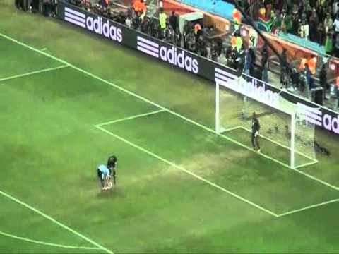 Tanda de Penales Uruguay - Ghana - Mundial 2010 (Audio Radio Continental)