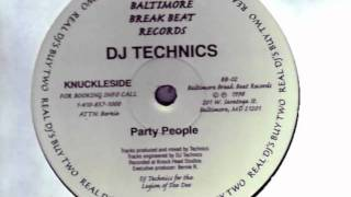 Dj Technics Party People 98 Baltimore Club