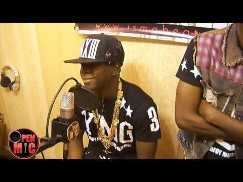 Didi B De La Kiff No Beat En Freestyle à Open Mic video