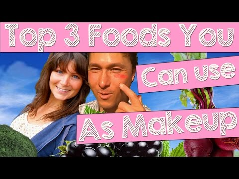 Top 3 Foods You Can Use as Makeup & Eat Too!