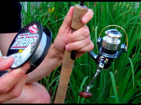 How To Put Line On A Spinning Reel