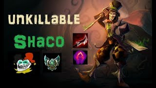 Unkillable Shaco in Platin [League of Legends] Full Gameplay - Infernal Shaco