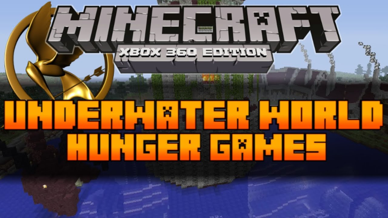 Xbox 360 Hunger Games : Minecraft xbox the hunger games map underwater