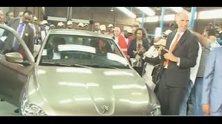 French car company Peugeot opens assembly plant in Tigray region Ethiopia
