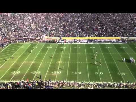 Here Come The Irish Kickoff video