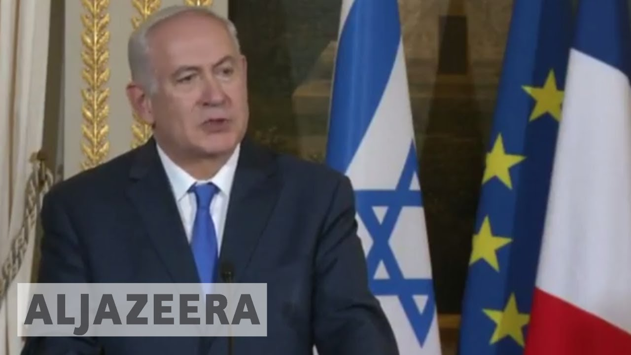 Netanyahu in Paris: We will not be lectured by Erdogan