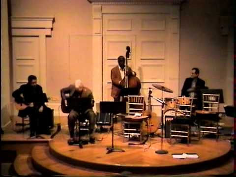 Tony Gil live guitar concert tribute to Charlie Byrd at the Corcoran Auditorium Part 2