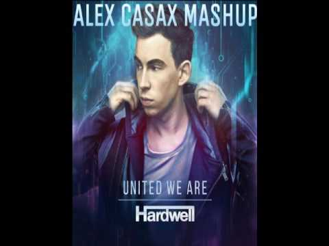 Hardwell & DallasK - Area 51 (Original Mix / DallasK Rework Edit) (Alex Casax Mashup)