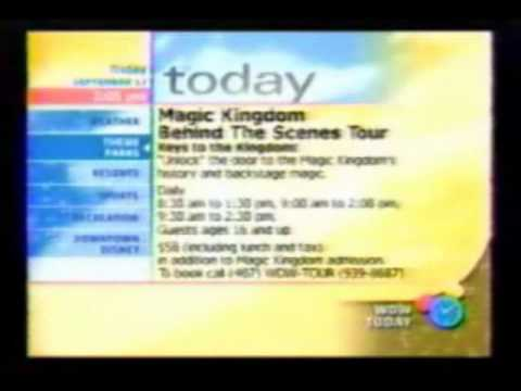 WDW Today Walt Disney World Resort TV part 7