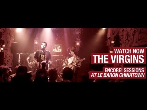 The Virgins - Flowers, Blue Rose Tattoo &amp; Slave To You - Encore Sessions S1E2