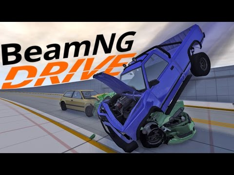 BeamNG Drive - Car Crash Scenarios - Crash Junctions - BeamNG Drive Gameplay Highlights