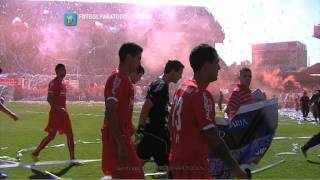 Recibimiento de Independiente. Independiente - Racing. Fecha 5. Torneo Primera División 2014.FPT