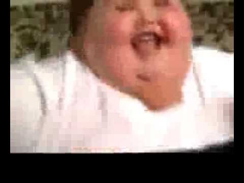 fat happy obese girl dancing to pitbull № 71570