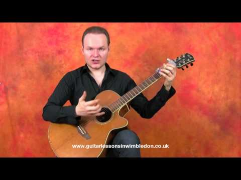 Chord Buddy Demonstration - Greg X - Wimbledon School of Guitar in London