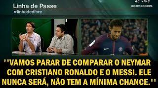 Arnaldo Ribeiro diz: ''Neymar nunca será como CR7 e Messi, não tem a mínima chance!''