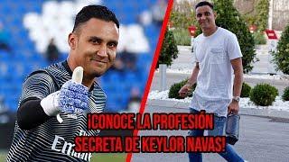 ¡La profesión SECRETA de Keylor Navas!
