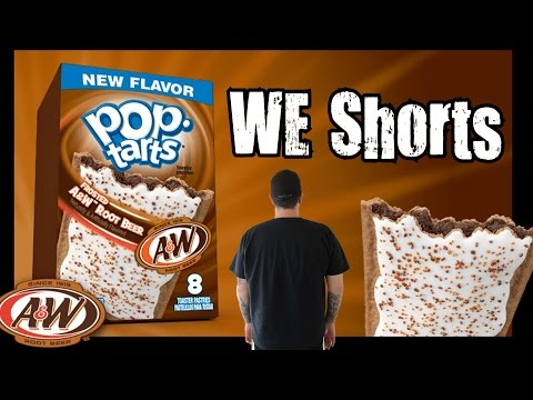Pop-Tarts A&W Root Beer Review - WE Shorts