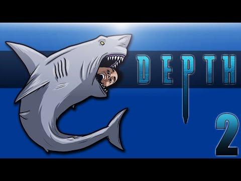 DEPTH: DIVERS VS SHARKS Ep. 2 (BasicallyICheeseburger!)