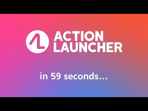 Action Launcher - Oreo + Pixel on your phone APK Cover