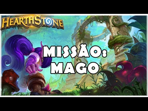 HEARTHSTONE - MISSÃO: MAGO! (STANDARD QUEST GIANT MAGE)