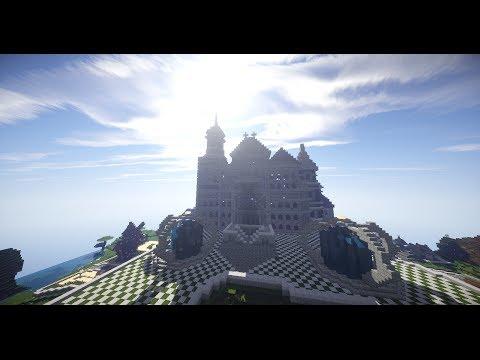 Эпичный замок и интерьер внутри!