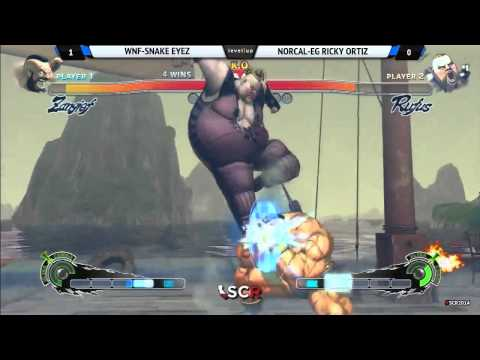 SCR SSF4 AE Exhibition Socal WNF vs Norcal 2014