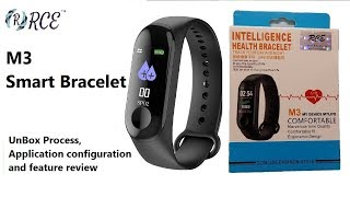 "M3 Smart Band Quick setup ""LEFUN Health"" and Feature review"