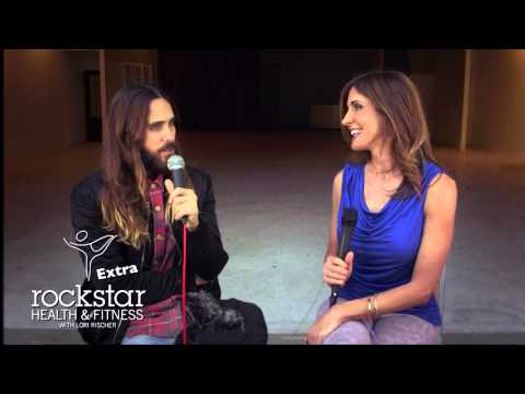 Rockstar Health & Fitness Extra with Lori Rischer Ft: Jared Leto