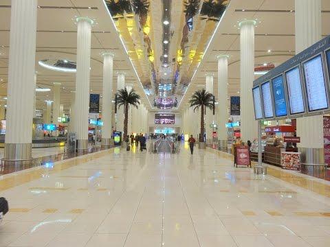 Landing in Dubai International Airport  & Terminal 3