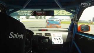 Suzuki Kupa vasárnapi futam Lévai Zolival - Slovakiaring