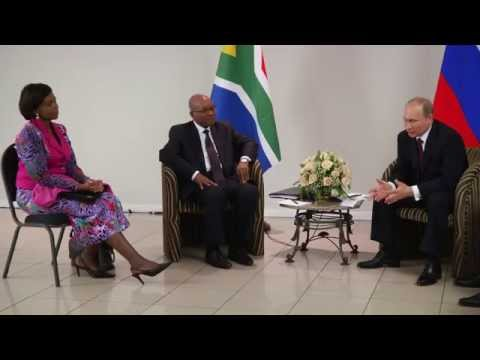 President Jacob Zuma attends the 6th BRICS Summit in Brazil