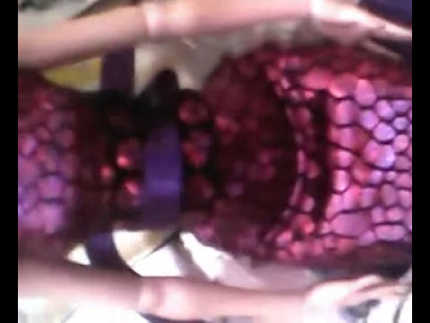 Como hacer un cinturon o cintillo para draculaura de mh