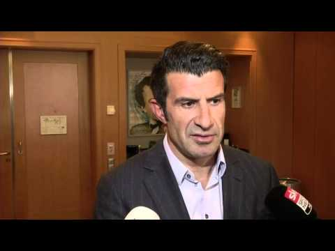 Disillusioned Figo withdraws from FIFA Presidential elections