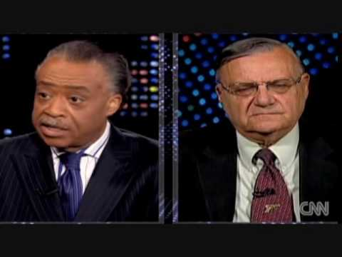 Al Sharpton slams Joe Arpaio on Arizona s law SB1070