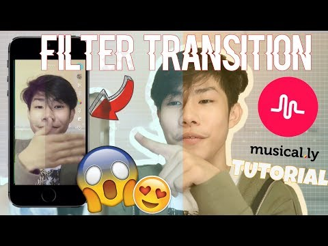 MUSICAL.LY TRANSITION TUTORIAL | FILTER TRANSITION (FOR ANDROID AND APPLE USER) | RenielReyesTV