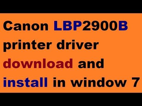 Скачать драйвер Canon LBP 2900