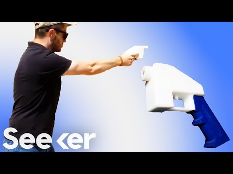 First Firing of &quot;Liberator&quot; 3D Printed Gun